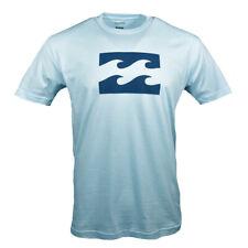 BILLABONG Men's t-shirt Surf Skateboard Snowboard Cotton Reg $26 Light Blue NEW