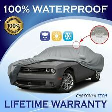 100% Waterproof/All Weatherproof Full Car Cover For Dodge Challenger [2000-2020]