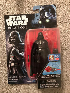 STAR WARS ROGUE ONE DARTH VADER CARDED MOC FIGURE NEW SEALED