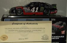 2016 KURT BUSCH #41 HAAS/MONSTER DARLINGTON GREEN PAINT PEN AUTOGRAPHED 1/24 COA