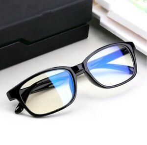 Gaming Glasses New Anti Fatigue Glare Clear Lens PC Gamers Blue Light Block HD