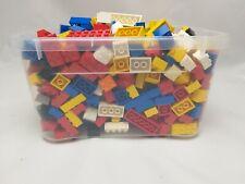TEILWEISE NEU FARBE GEMISCHT EINZELN 1KG // 1000G LEGO STEINE KLEINTEILIG