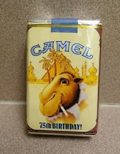 1988 Camel Limited Edition 75th Anniversary Collectible vintage package