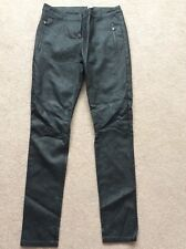 BNWOT Ladies Size 8 Black ASOS Leather Look Trousers