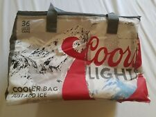 COORS LIGHT 2017 AUTHENTIC INSULATED COOLERS W/FREE SHIP
