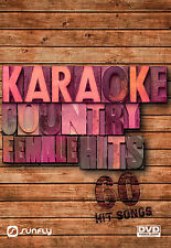 FEMALE COUNTRY HITS SUNFLY KARAOKE DVD - 60 HIT SONGS