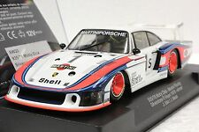 RACER SIDEWAYS SW20 PORSCHE 935/78 MOBY DICK MARTINI GROUP 5 USED 1/32 SLOT CAR