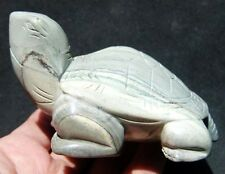 "7.95oz 3.5"" Natural Picasso Jasper Crystal Carving Art Turtle"