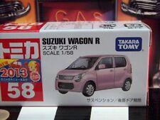 TOMICA #58 SUZUKI WAGON R 1/58 SCALE NEW IN BOX