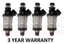 Set of 4 Fuel Injectors for Integra Civic EX SI Vtec 1.6L