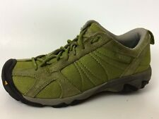 Keen Zorb Wmns 6.5 M EU 37 Green Leather Sport Sneaker Shoe Lace Up Hiking Trail