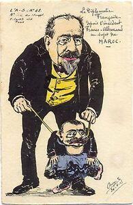 Kaiser Wilhelm, Marokko-Krise, sign. Orens, L`Actualiste Nr. 42, Auflage 150 St