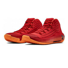 Under Armour Mens HOVR Havoc 2 Basketball Shoes Red Sports Breathable