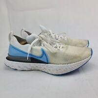Nike React Infinity Run Flyknit White Photo Blue Mens Running Shoe Size 13 White