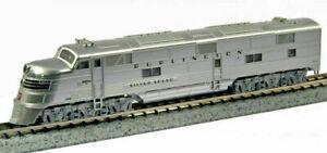 Kato N Scale E5A E5 Locomotive CB&Q Silver Speed Zephyr #9910A DCC Ready 1765401