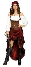 Pirate Queen Adult Womens Female Costume Dress Size S Small / M Medium NEW