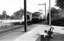 DEP 41 PHOTOGRAPHIE FORMAT CPA SALBRIS TRAIN DE PARIS TOULOUSE EN GARE