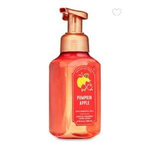 PUMPKIN APPLE Gentle Foaming Hand Soap by Bath and Body Works A sweet & savory