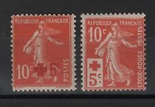 France - n° 146 et 147 neufs * - Croix Rouge - C: 46,00 €