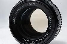 PENTAX SMC TAKUMAR 50mm F1.4 M42 Lens SN6643079