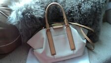 MICHAEL KORS COLLECTION LEXI LG Grained Leather Satchel