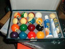 Belgian SUPER ARAMITH Pro-Cup Tournament Pool Balls Set Value Pack Billiard