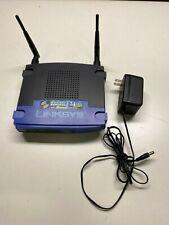 Linksys WRT54GS V5 Wireless G Router Internet Cisco Systems 4 Port Switch