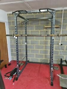 Bodymax Heavy duty Power Cage CF475 with BAR inc! Fast delivery & assembly! Gym