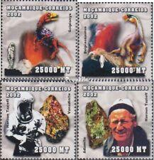 Mosambik 2536-2539 postfris MNH 2002 Persoonlijkheden