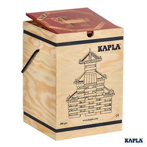 KAPLA Planks 280 Case | 280pc Plain Plank Set with Colour Book