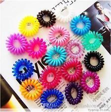 10 Pcs Girl Candy Women Hair accessories Elastic Hair Bands Rubber Hair Band