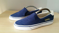 Adidas Originals Slip On Deck Plimsole Shoes navy size uk 8
