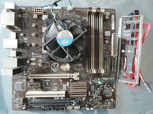 ASUS CS-B Motherboard Support Intel 4th Gen. Processor Socket 1150 i3 i5 i7 CPU