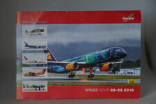 Herpa Wings News 05-06 2016 7 page catalogue