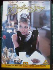 Breakfast At Tiffany's DVD.Disc Is In VGC.Audrey Hepburn + George Peppard.