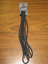"SOF SOLE Black 54"" Dog Bone Round Shoe Laces #83003 NEW"