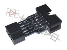 10 to 6 Pin Adapter for ATMEL AVRISP USBASP STK500