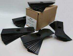 """50 Pack of HARDED Heavy Duty 8"""" x 2"""" Edger Blade with 1"""" center hole for Echo et"""