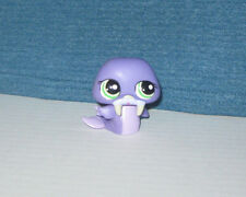 Littlest Pet Shop Purple Walrus Special Edition #1511 Hasbro New Loose