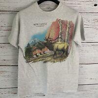 Vtg New Castle Colorado Shirt sz L Earth Zone Mitchell Moore 1993 Single Stitch