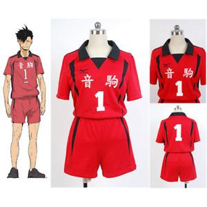 Haikyuu!! Nekoma High School NO.1 Tetsuro Kuro Volleyball Cosplay Costume Suit