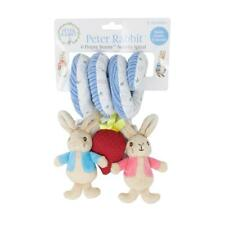 Peter Rabbit Activity Spiral Baby Toy Gift Buggy Pram 0months Rattle Crinkle and