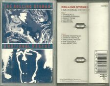 RARE / K7 AUDIO - THE ROLLING STONES : EMOTIONAL RESCUE / TAPE