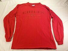 Kansas City KC Chiefs AFC West Long Sleeve T-Shirt Adult Medium