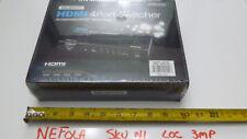 4X1 HDMI Certified Switcher w/ Toslink & Digital Coaxial Port (Rev.2) & 3D