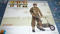 DRAGON ACTION FIGURE BRITISH PARATROOPER & WELBIKE 1ST AIRBORNE MARTIN HICKS
