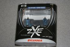 Sylvania Silverstar ZXE H11B Pair Set Headlight Bulbs Xenon Fueled NEW
