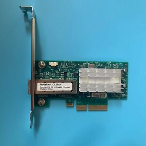 Mellanox ConnectX-3 PCIe x4 NIC 10 Gigabit 10GBe SFP+ Single Port Server Adapte