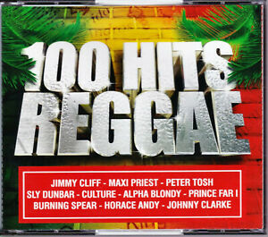 COFFRET 5 CD - 100 HITS REGGAE
