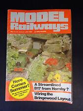 Model Railways: July 1983: Summer: B17 Hornby, Bringewood Layout